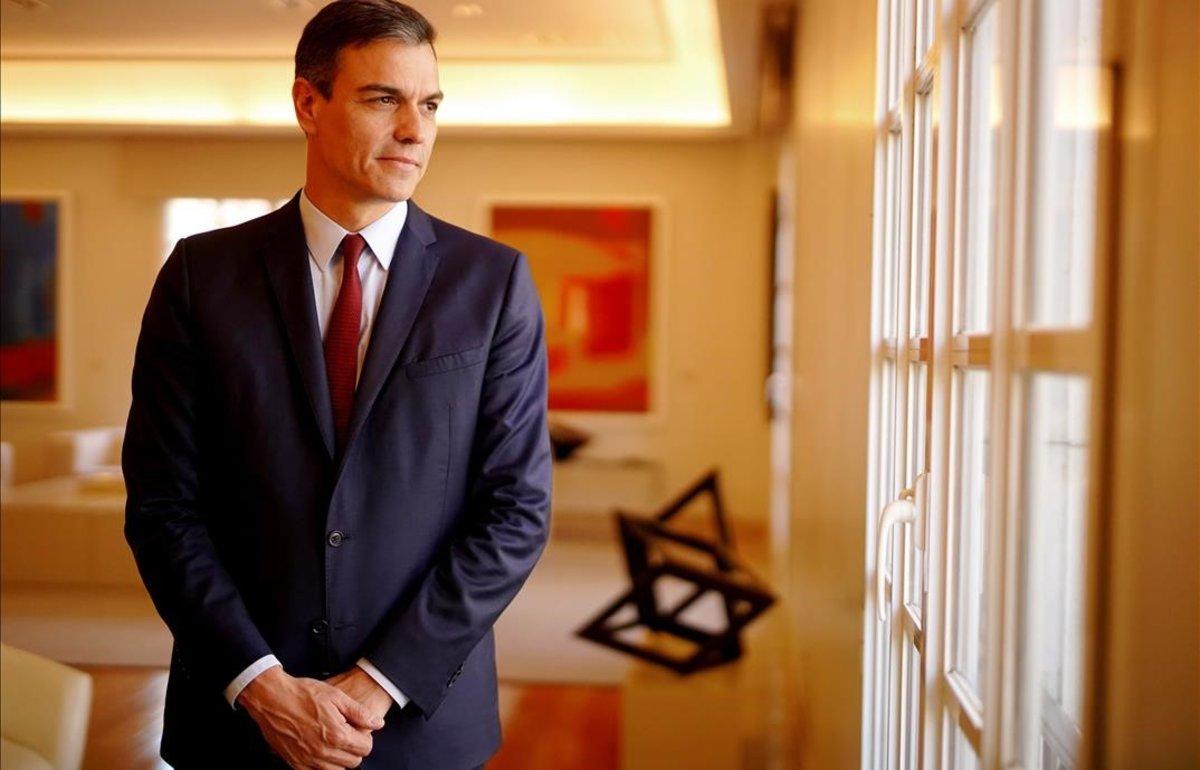 El presidente del Gobierno y candidato del PSOE a las próximas elecciones generales, Pedro Sánchez.