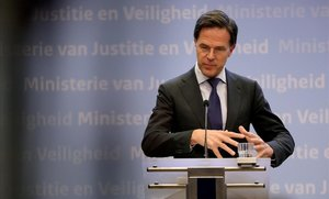 El primer ministro holandés, Mark Rutte.