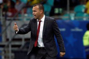 Rafael Dudamel destaca el histórico empate ante Brasil por la Copa América.