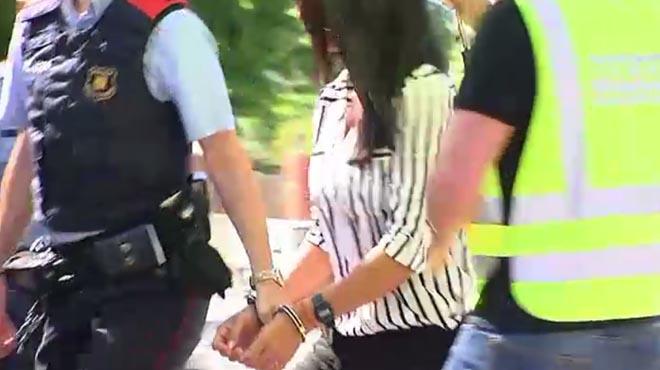 La expareja detenida ha estado en la casa de ella, donde presuntamente se cometió el crimen.