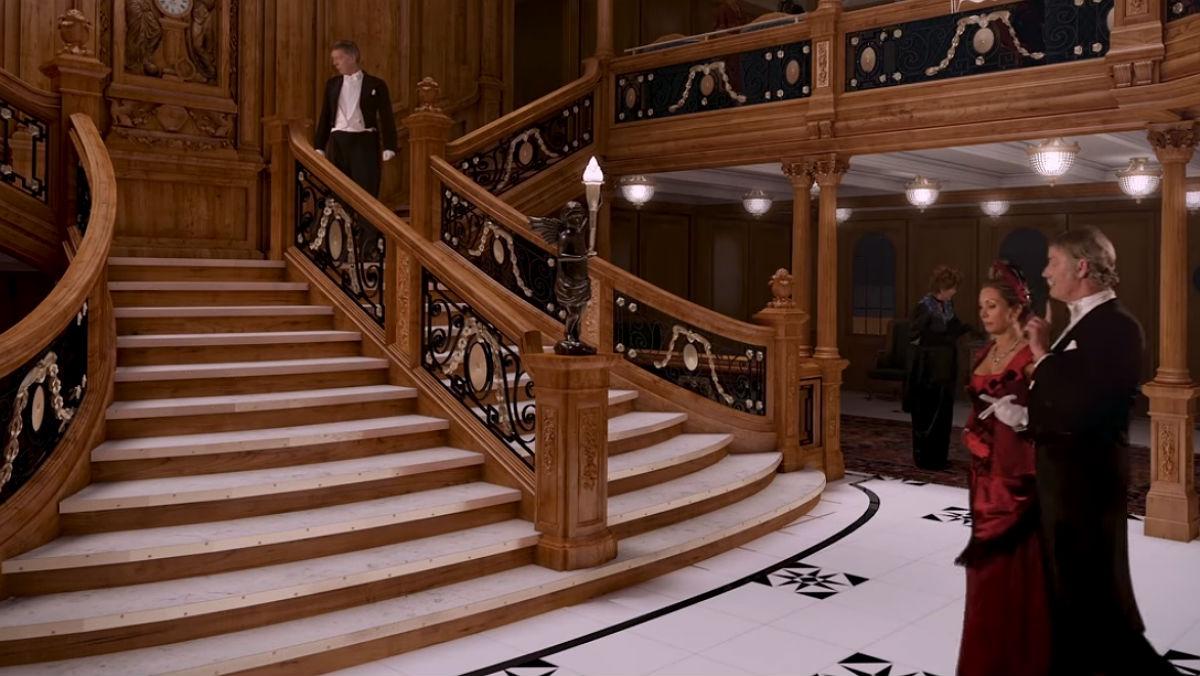 Recreación virtual del nuevo Titanic.
