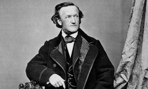 Retrato del compositor Richard Wagner.