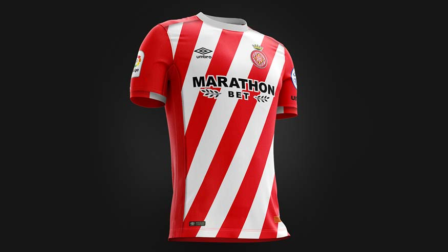 Revolución: La nueva camiseta del Girona FC