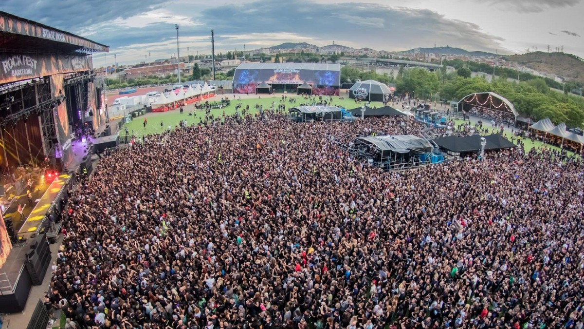 El Rock Fest Barcelona cancel·la l'edició d'aquest estiu