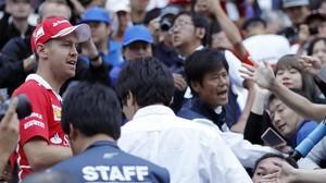 Vettel torna a ser més ràpid que Hamilton al Japó