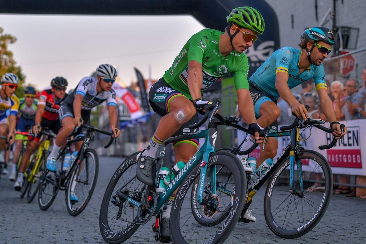 Peter Sagan, la semana pasada, durante un critérium de exhibición en Bélgica.