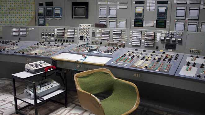 La sala de control de Chernóbil abre sus puertas.