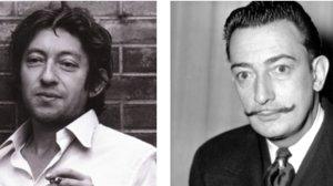 Gainsbourg i Dalí, provocació mútua