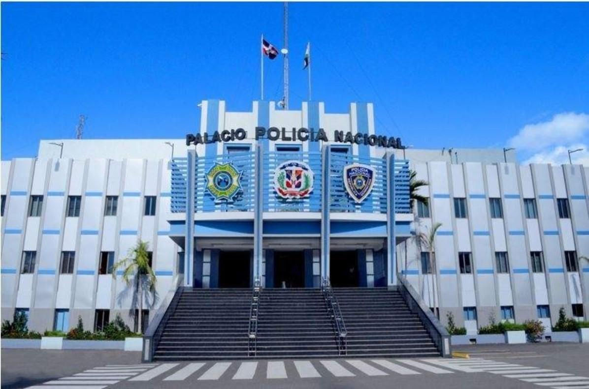 Sede central de la Policía Nacional de República Dominicana, en Santo Domingo.