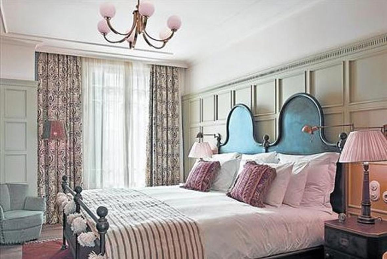 Una habitació de l'hotel SoloHouse.