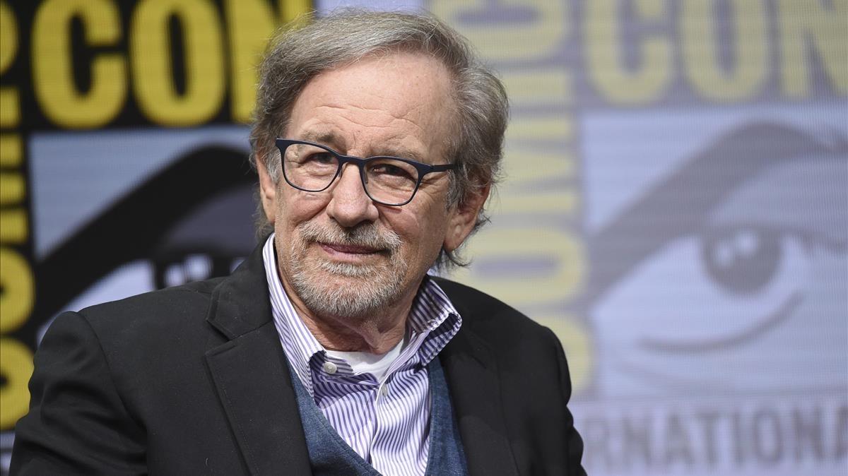 Steven Spielberg, en la Comic-Con de San Diego.