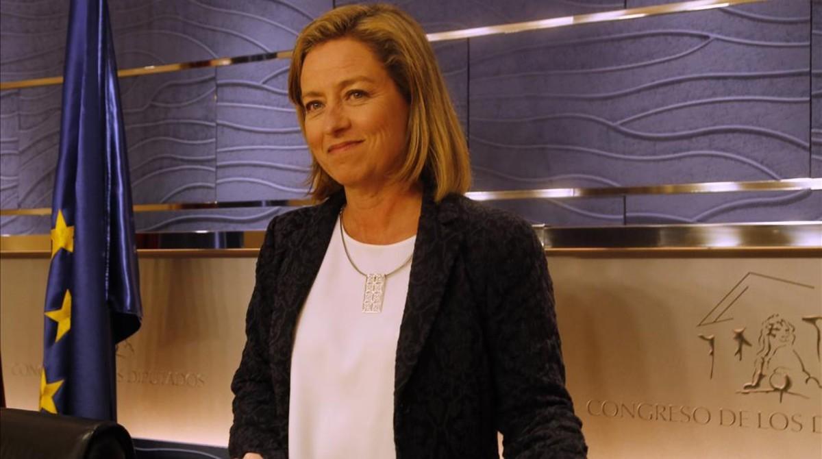 La portavoz de Coalición Canaria en el Congreso, Ana Oramas.