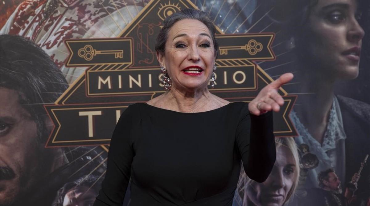 Luisa Gavasa, otra de las nuevas incorporaciones.