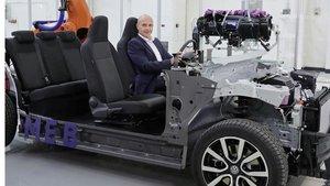 Thomas Ulbrich, responsable de electrificación de Volkswagen.