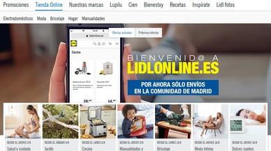 Lidl estrena tienda 'on line' en España con productos de bazar