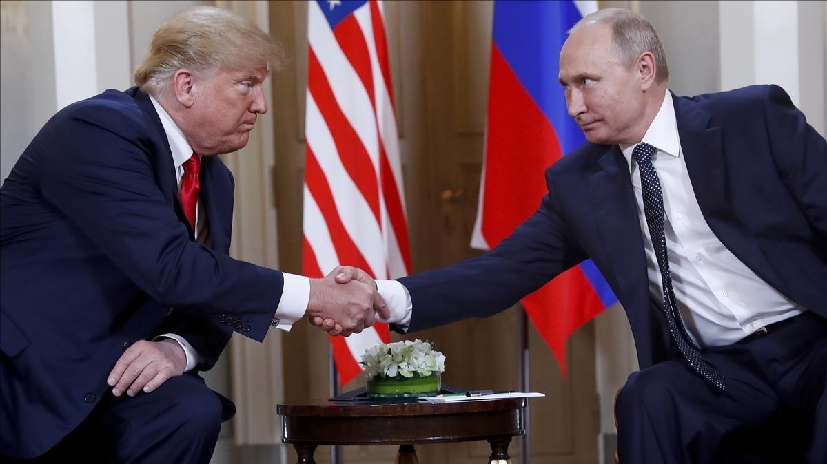 Trump y Putin, en Helsinki, el pasado 16 de julio.