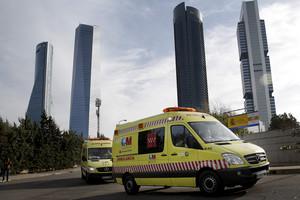 Una ambulancia, en una foto de archivo.
