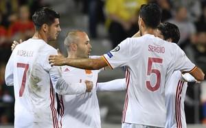 'La Roja' s'empatxa de gols