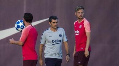 """Valverde aplaude la """"motivación extra"""" de sus jugadores ante la Champions"""