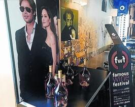 El vino Miraval, de Brad Pitt y Angelina Jolie, en el Famous Wine Festival del 2015.