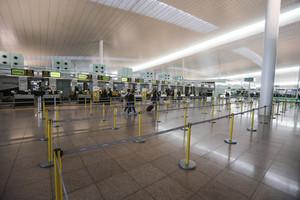 El Prat viu sense incidències una nova vaga de pilots