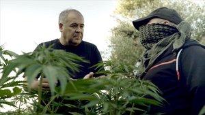 Antonio Gacía Ferreras,en la serie documental de La Sexta Estrecho.