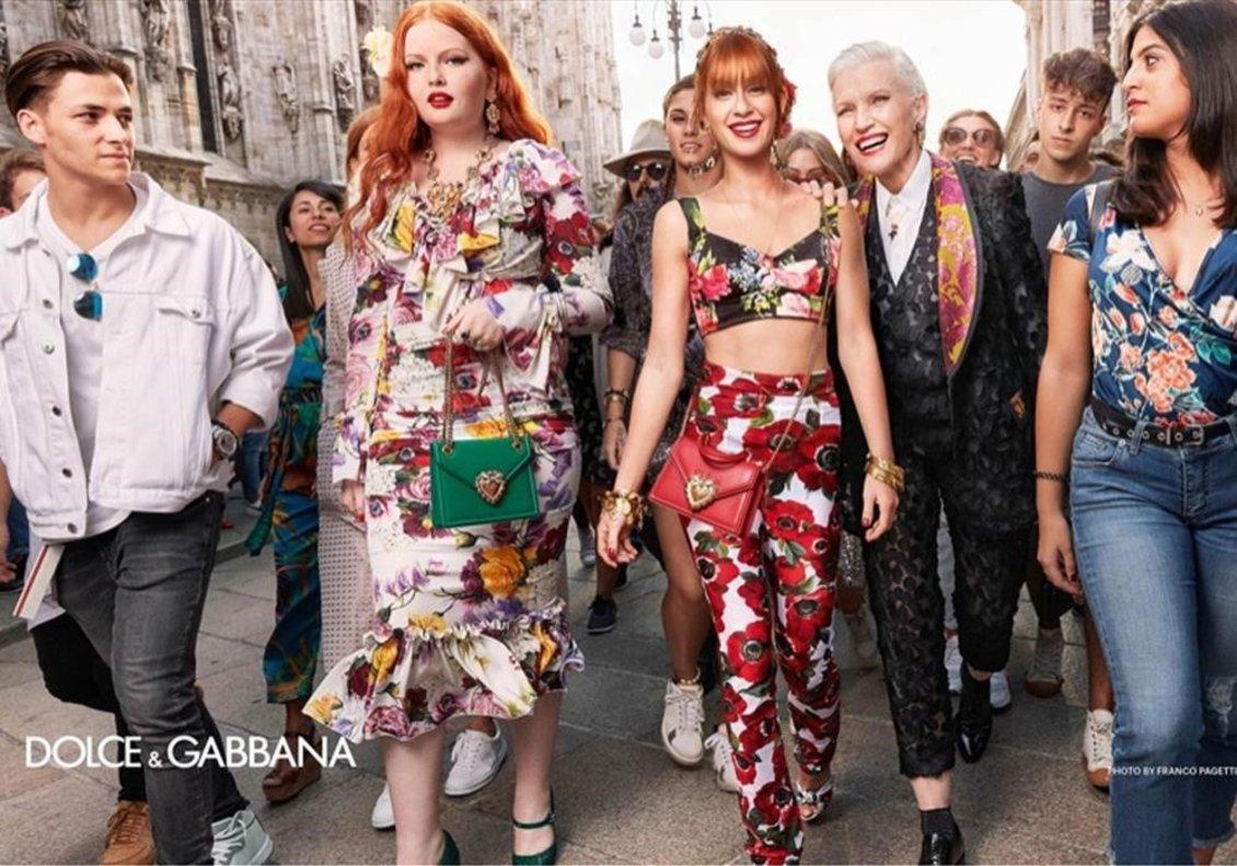 La campaña de esta primavera-verano de Dolce & Gabbana.