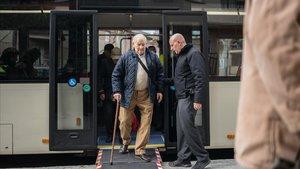 Així és una de les classes perquè els més grans de 65 anys es moguin amb seguretat a Barcelona