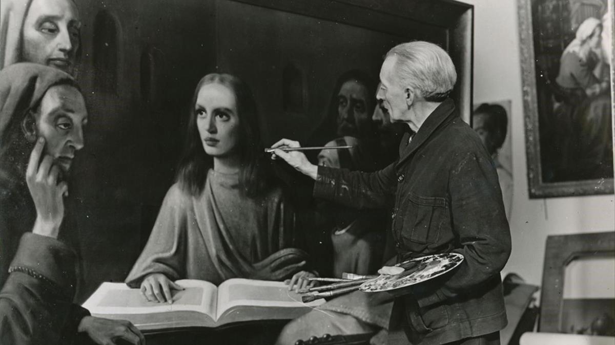 Hans van Meegeren, el pintor holandés que engañó a los nazis.