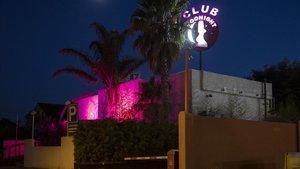 Club Moonight, juntoa la N-II,cerca de Figueres.