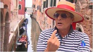 Un gondolero veneciano, en 'Informe Semanal'.