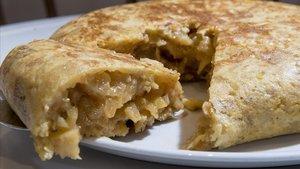La tortilla de patatas de Mantequerías Pirenaicas.