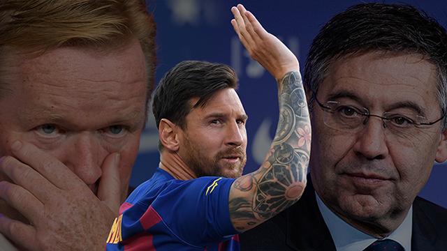 Messi comunica al Barça que se'n vol anar