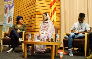 Esplugues rep tres activistes mundials pels drets humans en el marc de les 'Ciutats Defensores dels Drets Humans'