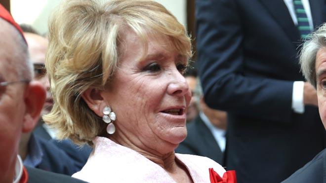 """Esperanza Aguirre retreu a Casado els seus qualificatius """"feridors"""" cap a Abascal"""