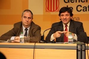 Albert Ballesta, a la izquierda.