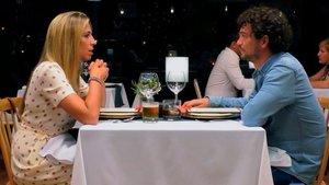 Alberto y Marcela en su cita en 'First Dates'