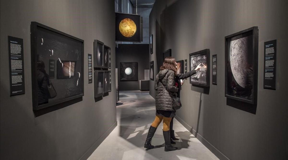 ExposiciónLa belleza del Universoen las instalaciones de CosmoCaixa (Barcelona)