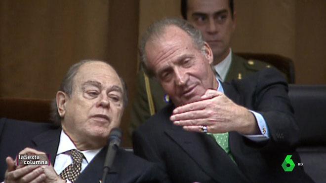 Juan Carlos y Pujol (La Sexta Columna).