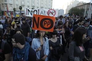 Asistentes a la manifestación Rodea el Congreso.