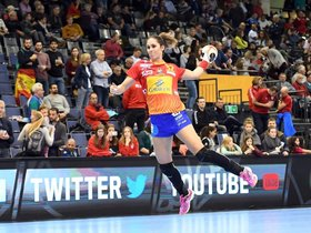 Mireya González, en acción.