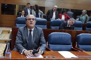 Angel Gabilondo,portavoz del PSOE en la Asamblea de Madrid.