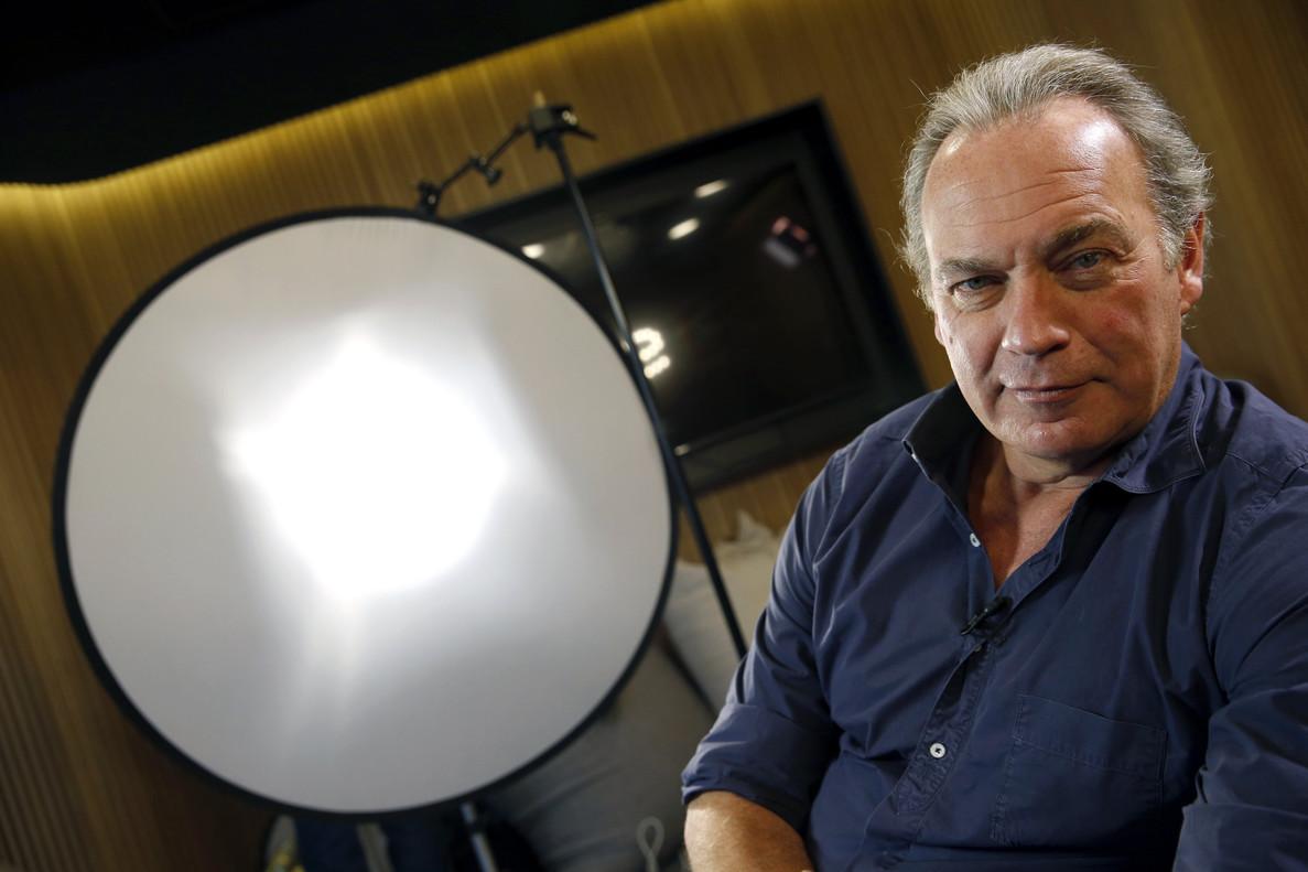 Bertín Osborne, en un plató de TVE, en una imagen de archivo.