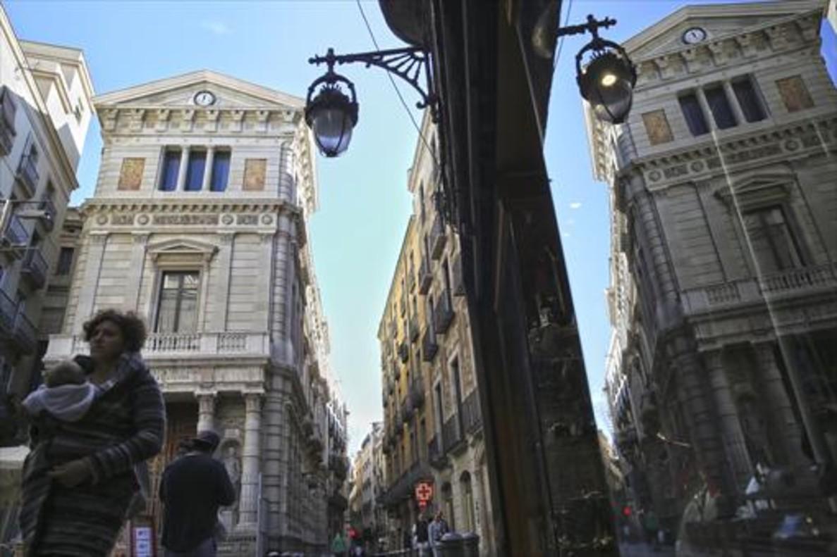 El Borsí, en la calle de Avinyó, uno de los proyectos que recibirán recursos del plan de barrios en el 2018.