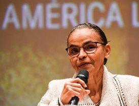 Marina Silva, exministra de Medio Ambiente de Brasil.