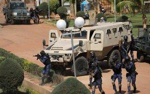 Militares en un opertaivo en Birkina Faso.