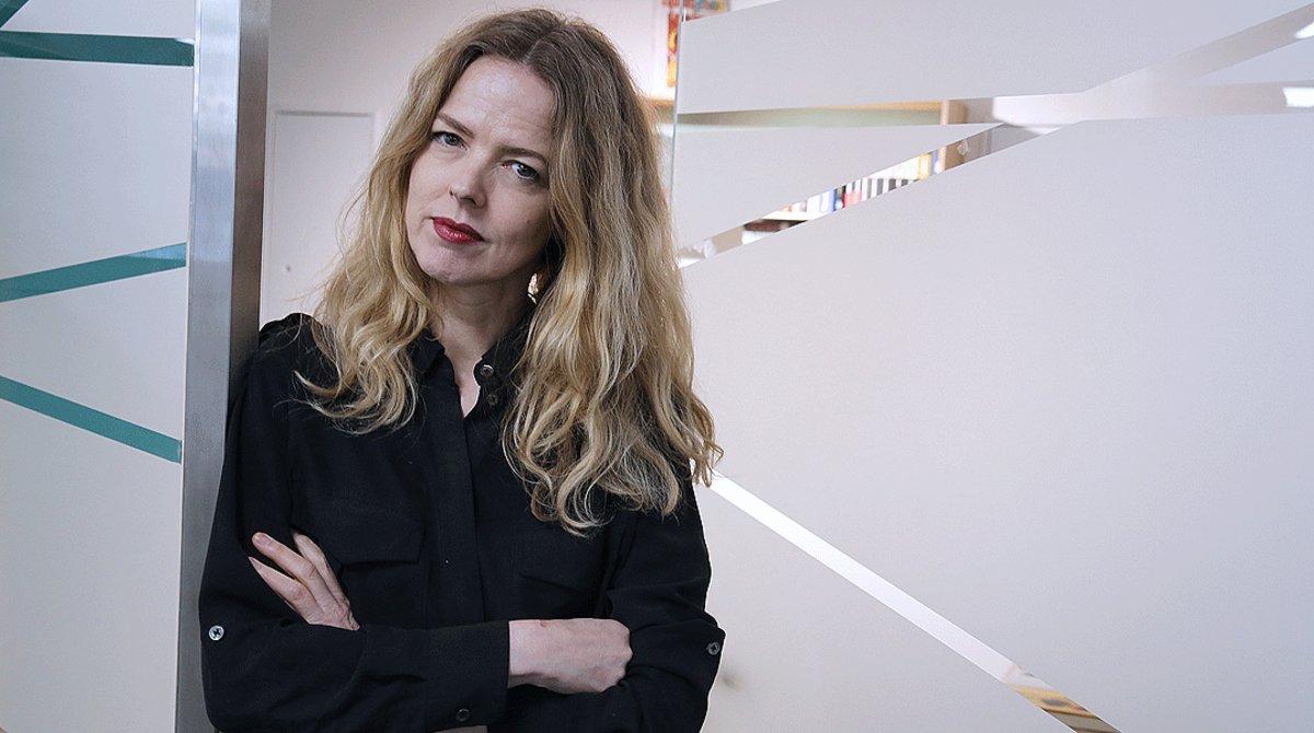La cantante y compositora Christina Rosenvinge, en Barcelona, en abril del 2019.