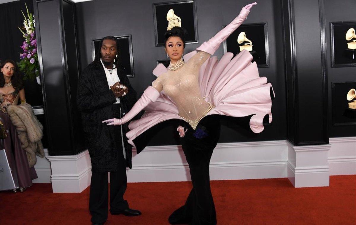 Cardi B, en los Grammy