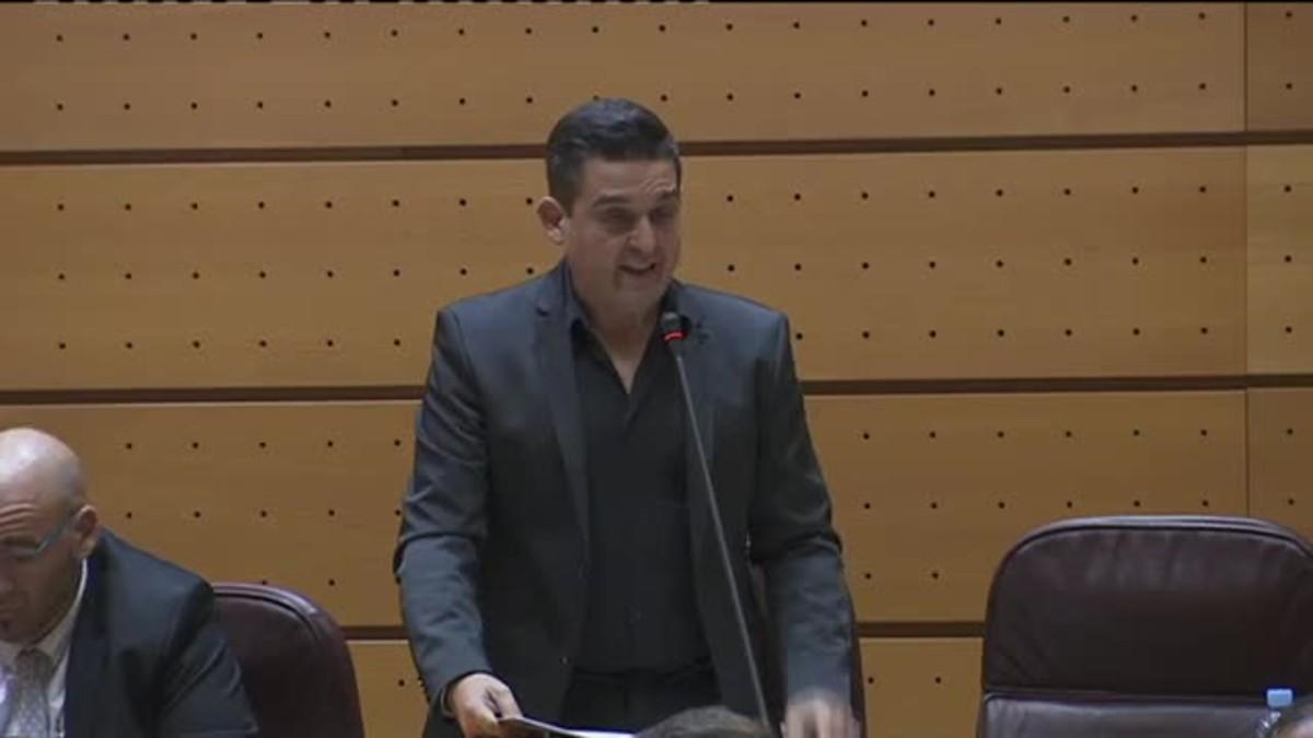 Carle Mulet replica a M.Rajoy en el congreso.