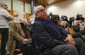 Carlos Morin, durante el nuevo juicio en la Audiencia de Barcelona.
